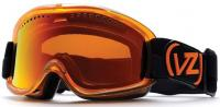 Von Zipper Sizzle Snow Goggles - Tangerine Translucent / Fire Chrome