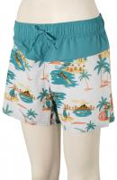 Roxy Sea Boardshorts - Bright White / Honolulu