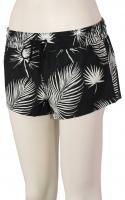 Hurley Supersuede Floreetah Women's Boardshorts - Black / Palm