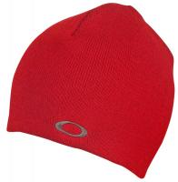 Oakley Fine Knit Beanie - Red Line
