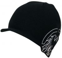 Never Summer Sonic Weld Visor Beanie - Black / White