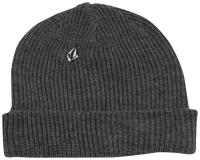 Volcom Full Stone Beanie - Charcoal Heather