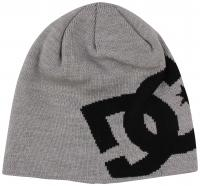DC Big Star Beanie - Grey Heather