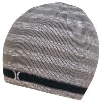 Hurley Lightweight One and Only Stripe Beanie - White