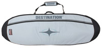 Destination Surf Double Taco Travel Bag - Grey