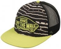 Vans Beach Girl Women's Trucker Hat - Black / Sulpher