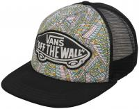 Vans Beach Girl Women's Trucker Hat - Abstract Black / True White