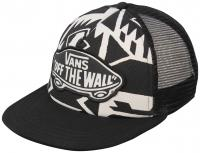 Vans Beach Girl Women's Trucker Hat - White Sand / Black