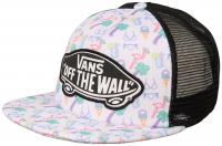 Vans Beach Girl Women's Trucker Hat - Neon Lights Tropical