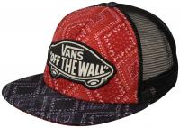 Vans Beach Girl Women's Trucker Hat - Bandanna Chili Pepper