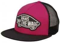 Vans Beach Girl Women's Trucker Hat - Very Berry / Black