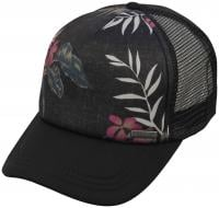 Rusty Mixed Trucker Hat - Black