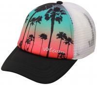 Volcom Don't Let Me Go Women's Trucker Hat - Art