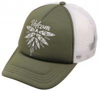 Volcom Ocean Drift Women's Trucker Hat - Dark Camo