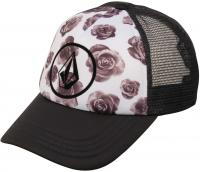 Volcom Lost Marbles Women's Trucker Hat - Black / White