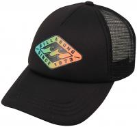 Billabong Vivid Nights Women's Trucker Hat - Off Black