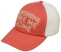Billabong Aloha Forever Women's Trucker Hat - Vintage Coral / Sunshine