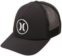 Hurley Phantom Block Party Trucker Hat - Black