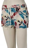 Roxy Electric Mile Shorts - Ashbury Floral Pristine