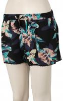 Roxy Salty Tan Shorts - Anthracite / Tropicoco