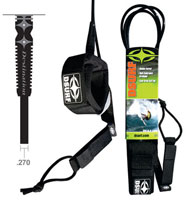 Destination Surf Surfboard Leash - Medium Wave