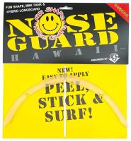 Surf Co Fun Shape Nose Guard - Clear