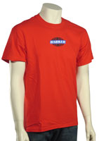 Barker Globe T-Shirt - Red
