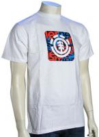 Element Quadrant T-Shirt - White