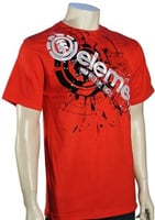 Element Cut Out T-Shirt - Red