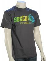 Sector 9 Marquee T-Shirt - Charcoal Gradient