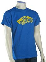 Vans OTW T-Shirt - Royal Heather / Yellow