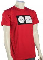 RVCA Correction T-Shirt - Red