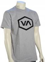 RVCA Hex VA T-Shirt - Athletic Heather