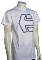 Etnies Oversized Icon T-Shirt - White