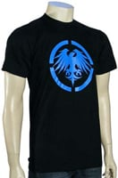 Never Summer Eagle T-Shirt - Black / Blue