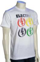 Electric Critical Slim Fit T-Shirt - White