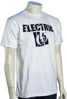 Electric Scrape T-Shirt - White