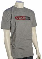 Volcom Euro Styling T-Shirt - Heather Grey