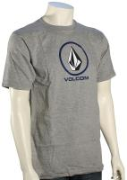 Volcom Circle Staple T-Shirt - Heather Grey