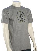 Volcom Camo Stone T-Shirt - Heather Grey