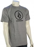 Volcom New Circle Too T-Shirt - Heather Grey