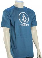 Volcom New Circle Too T-Shirt - Sun Faded Indigo