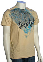 Volcom Crumple Stone Slim Fit T-Shirt - Beach