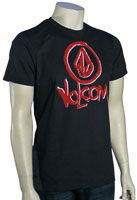 Volcom V.Co Paintbox T-Shirt - Vintage Black