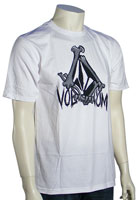 Volcom Bone Stone T-Shirt - White