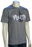 Volcom Tiltowirl T-Shirt - Heather Grey