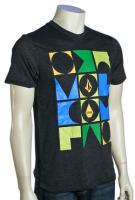 Volcom Block T-Shirt - Heather Black