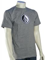 Volcom Circle Stone T-Shirt - Heather Grey