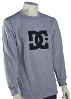DC Star LS T-Shirt - Heather Grey / Black