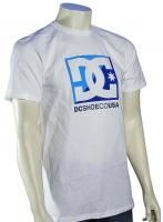 DC Cross Stars T-Shirt - White / Royal